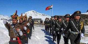 عقبنشینی همزمان نیروهای هندی و چینی از مرزهای مورد مناقشه