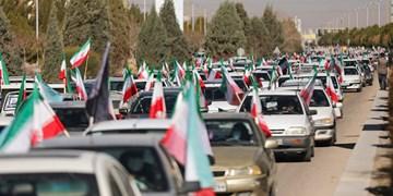 راهپیمایی یومالله 22 بهمن در کرمان