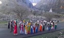 فیلم|راهپیمایی ۲۲ بهمن در روستای آرپناه لالی