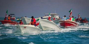 22 بهمن دریایی در کیش