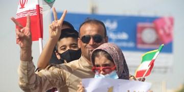 فیلم| برگزاری شکوهانگیز رژه خودرویی و موتوری 22 بهمن در پارسیان