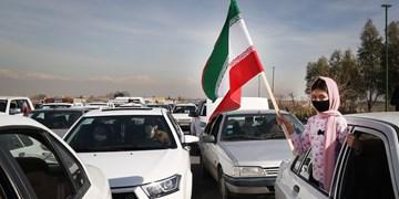 فیلم| فجر ۴۲ در حاشیه تهران