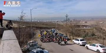 فیلم| راهپیمایی خودرویی مردم استان قزوین