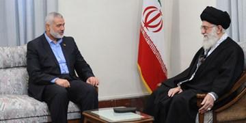 پیام «اسماعیل هنیه» برای رهبر معظم انقلاب اسلامی ایران