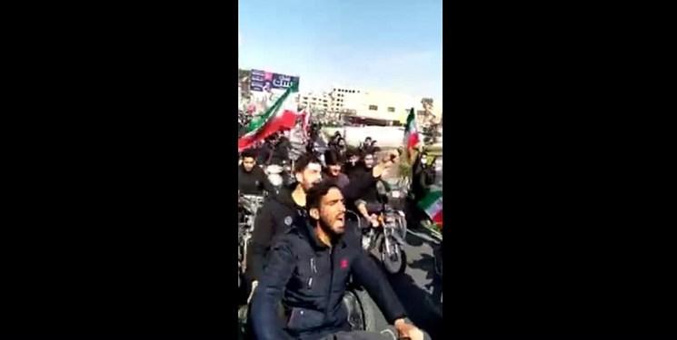 واکنشها به توهین به رئیسجمهور در راهپیمایی 22 بهمن/ سخنرانی اخیر آقا را به یاد بیاورید!