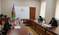 بررسی همکاری تاجیکستان و آذربایجان در «باکو»