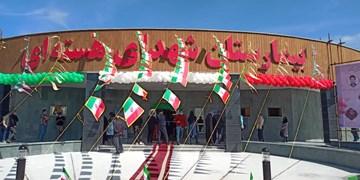 بیمارستان شهدای هستهای بوشهر توسط رئیسجمهور افتتاح شد