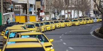 رژه خودوریی تاکسیرانان قزوینی