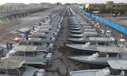 فیلم| الحاق غرورانگیز صدها شناور تندرو به نیروی دریایی سپاه