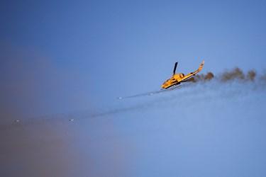 در این رزمایش پیشرفته ترین پهبادهای تهاجمی، شناسایی و انتحاری نیروی زمینی به نمایش درآمد و بالگردهای موشک انداز و نقطه زن اهداف پیش بینی شده را مورد هدف قرار دادند.