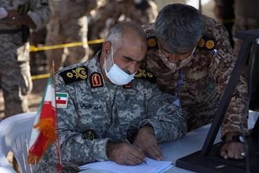 سردار احمد خادم سيد الشهدا فرمانده قرارگاه كربلا در جنوب غرب كشور
