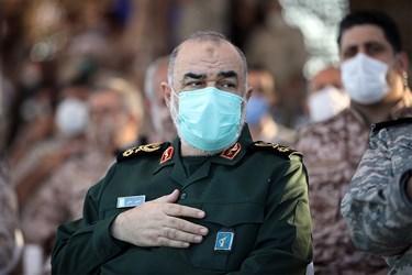 سردار سرلشکر حسین سلامی ، فرمانده کل سپاه پاسداران انقلاب اسلامی ایران