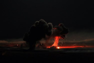 در این رزمایش نیروی زمینی سپاه، برای نخستین بار به طور گسترده عملیات تهاجمی ترکیبی شبانه در تاریکی مطلق تمرین برگزار کرد .