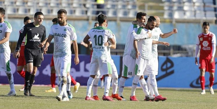 هفته پانزدهم لیگ برتر| برد شیرین آلومینیوم در بازی بیرون از خانه مقابل نفت مسجدسلیمان