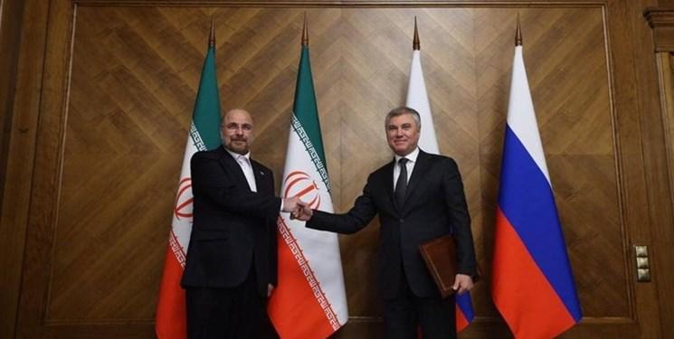 مسکو تایمز: سفر قالیباف به مسکو تاثیر دراز مدتی بر روابط ایران-روسیه خواهد داشت