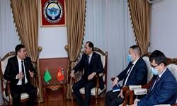 تقویت همکاریهای استراتژیک محور دیدار مقامات قرقیزستان و ترکمنستان