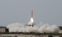 پاکستان یک موشک کروز را با موفقیت آزمایش و پرتاب کرد