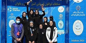 کسب دو عنوان برتر مسابقات قهرمانی دوگانه کشور توسط دختران چهارمحال و بختیاری