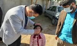 آغاز واکسیناسیون «فلج اطفال» در ریگان