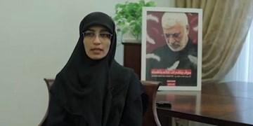 دختر شهید ابومهدی المهندس: شهادت این دو رفیق خون تازه در رگهای جریان مقاومت جاری کرد