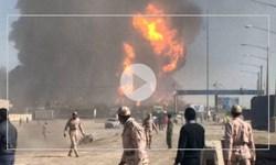 مهار آتش سوزی در گمرک اسلام قلعه در مرز ایران و افغانستان