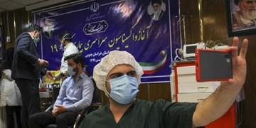 گزارش تصویری | آغاز واکسیناسیون کرونا در خراسانجنوبی