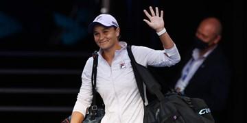 تنیس آزاد استرالیا| حذف بانوی شماره یک جهان از دور رقابتها