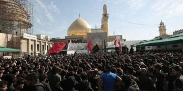 کرونا و تهدید داعش مانع تشرف زائران به سامرا نشد+عکس و فیلم