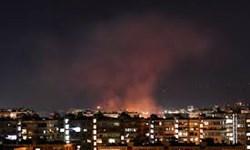 پاسخ پدافند هوایی ارتش سوریه به حملات رژیم صهیونیستی