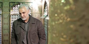 حاجقاسم در مأموریتهای سخت به امامین عسکریین(ع) متوسل میشد/ غبارروبی حرم توسط شهید سلیمانی+فیلم