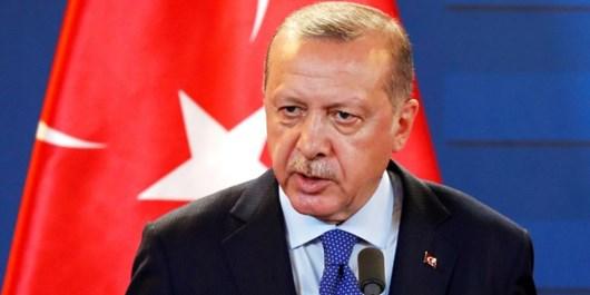 اردوغان: ادعای مالکیت علیه هیچ قلمرویی نداریم