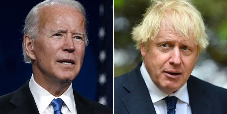 نخستوزیر انگلیس، جو بایدن را به کپی کردن شعارش متهم کرد
