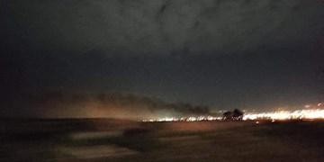 حمله پهپادی به پایگاه آمریکاییها در اربیل