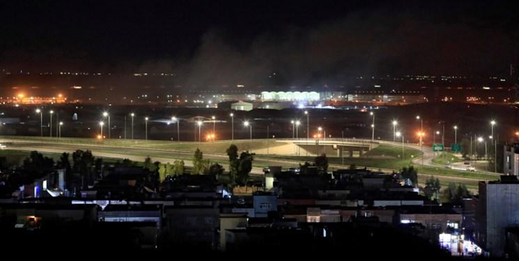 حمله پهپادی به پایگاه نظامیان آمریکایی در اربیل عراق