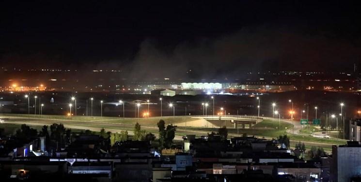 حمله راکتی به پایگاه نظامیان آمریکایی در اربیل