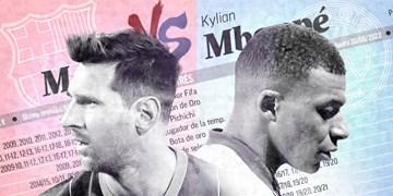مسی یا امباپه؛ نبردی مهم برای امروز و فردا  + فیلم
