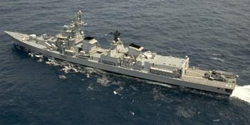 ناو هندی «میسور» به رزمایش دریایی ایران و روسیه پیوست