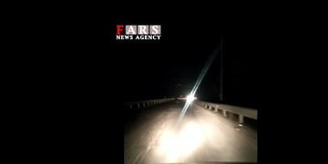 فیلم| خاموشی عجیب و خطرناک خیابان نسیم شمال