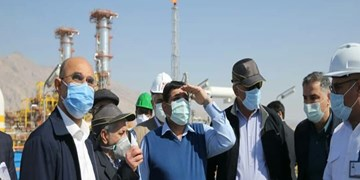 جنوب فارس قطب جدید صنعت کشور/ بهرهبرداری از پالایشگاه استحصال اتان در اوج تحریمها