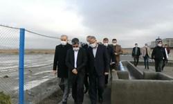 بهرهبرداری از فاز ٢ تصفیهخانه شهرک صنعتی خوی با حضور معاون وزیر صمت