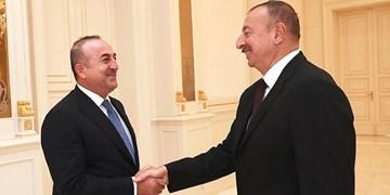 رایزنیهای دو روزه وزیر خارجه ترکیه در جمهوری آذربایجان