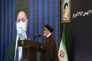 سخنرانی حجت السلام آل هاشم نماینده ولی فقیه در استان آذر بایجان شرقی
