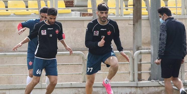 گزارش تمرین پرسپولیس  برگزاری جلسه فنی سرخپوشان/ تمجید بازیکنان از عملکرد گلمحمدی و باقری