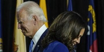 بایدن در گافی جدید، معاونش را رئیسجمهور آمریکا خطاب کرد