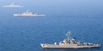 رزمایش دریایی ایران و روسیه در شمال اقیانوس هند پایان یافت
