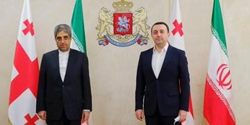 دیدار سفیر ایران در تفلیس با وزیر دفاع گرجستان