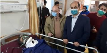 حادثه در معدن زمستان یورت آزادشهر/ عیادت استاندار گلستان از 4 مصدوم زمستانیورت