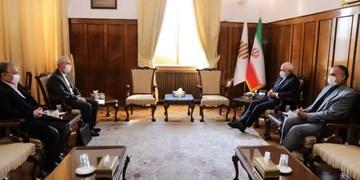 استاندار آذربایجانشرقی به دیدار ظریف رفت / راهاندازی پایانه مرزی خداآفرین و بازگشایی خط ریلی جلفا- نخجوان