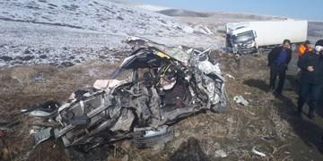 حادثه رانندگی در سقز یک کشته و دو زخمی برجای گذاشت