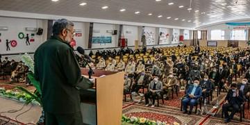 گزارش تصویری| همایش نقش اقشار بسیج در حفظ دستاوردهای انقلاب اسلامی در ۴۰سالگی دفاع مقدس
